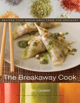 "book cover - ""The Breakaway Cook"""